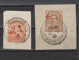 COB 150 - 151 Oblitération Centrale Ste-Adresse - 1918 Red Cross