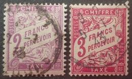 DF40266/1795 - FRANCE - 1893/1935 - TIMBRES TAXE - N°42 à 42A ☉ - Taxes