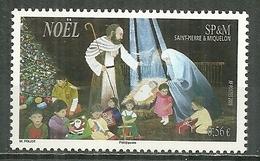 SAINT PIERRE ET MIQUELON MNH ** 965 Noël Crèche Et Enfants - Neufs