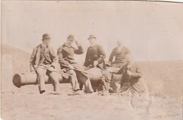 Photo Avril 1895 FORT SAINT-MENGE (Ligniville, Près Langres, Rolampont, Lannes) - Un Canon (A221) - Autres Communes