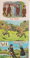 FANTAISIE  -  HUMOUR  -  LOT DE 40 CPM  -  Qqes Ex En Scans  - - Cartes Postales