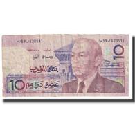 Billet, Maroc, 10 Dirhams, KM:60a, TB - Morocco