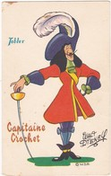 Walt DISNEY : CAPITAINE CROCHET : - Chocolat Tobler - - Non Classés