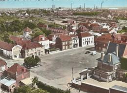 En Avion Au-dessus De MOLINGHEM (Pas De Calais) - Place De La Mairie - Autres Communes