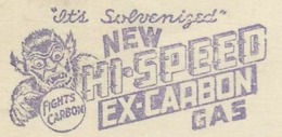 EMA METER FREISTEMPEL USA TOLEDO OHIO 1938 MONSTER YETI DIABLE WOLFMAN CARBON GAS CINEMA HORROR - Cinema