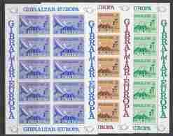 Europa Cept 1979 Gibraltar 3v 3 Sheetlets ** Mnh (47670) - Europa-CEPT