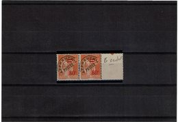 VARIETE - PREO PAIX 80c/1f ORANGE  E AVEC CROCHET ** Y/T N° 74c - Curiosities: 1931-40 Mint/hinged