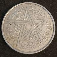 MAROC - MOROCCO - 2 FRANCS 1951 ( 1370 ) - KM 47 ( Mohammed V ) - Marruecos