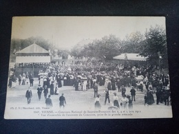A1/concours National De Sapeurs-pompiers Des 3,4,5 Juin 1911 - Vienne