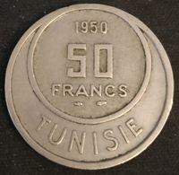 TUNISIE - TUNISIA - 50 FRANCS 1950 - KM 275 - Muhammad Al-Amin - Protectorat Français - Tunisia