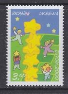 Europa Cept 2000 Ukraine 1v ** Mnh (47673A) ROCK BOTTOM - 2000