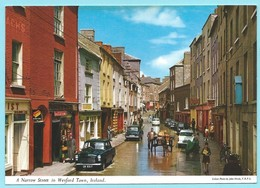 1889 - IERLAND - IRELAND - WEXFORD - A NARROW STREET IN WEXFORD TOWN - Wexford