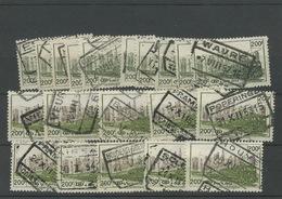 10 Paires Des Bons 200F.   Cote + 40,-euros - Railway