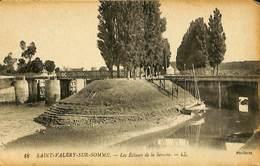 027 618 - CPA - France (80) Somme - Saint-Valery-sur-Somme - Les Ecluses De La Somme - Saint Valery Sur Somme