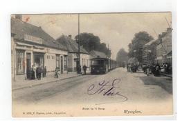 Wijnegem  Wyneghem  Zicht In 't Dorp  1905(stoomtrein)  N.1512  F Hoelen , Phot Cappellen - Wijnegem