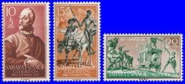 Sahara Espagnol 1958. ~ 136/38* - Enfance Indigène - Sonstige - Afrika