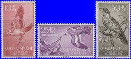Sahara Espagnol 1958. ~ 140 à 42* - Journée Timbre/ Oiseaux - Sonstige - Afrika