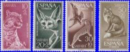Sahara Espagnol 1960. ~ 163 à 66* - Journée Du Timbre - Sonstige - Afrika