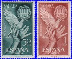 Sahara Espagnol 1962. ~ 206 à 07* - Aide à Barcelone - Sonstige - Afrika