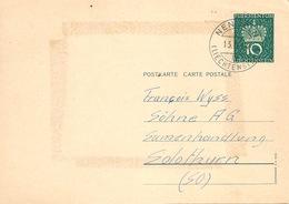 PK  Nendeln - Solothurn           1964 - Stamped Stationery