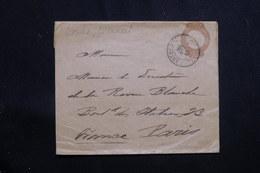 BRÉSIL - Entier Postal ( Bande Journal ) Pour Paris En 1902 - L 60966 - Enteros Postales