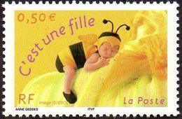 France N° 3634 A ** C'est Une Fille, Gomme Brillante. - France