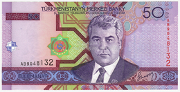 LOT044 - Banknote Turkmenistan 50 Elli Manat Türkmenistanyň Merkezi Banky 2005 - Turkmenistan