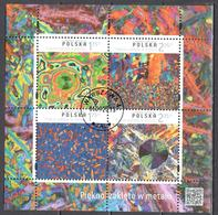 Poland  2015 - Beauty Captured In Metal - Mi.ms 243 - Used - Blocks & Kleinbögen