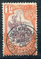 COTE DES SOMALIS 1902  N° 50 OBLITERES COTE 23E - Côte Française Des Somalis (1894-1967)