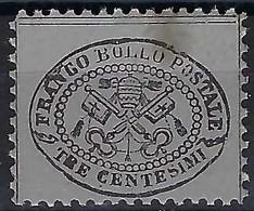 ITALIE Etats Pontificaux: Le Y&T 20 Neuf (*) - Estados Pontificados