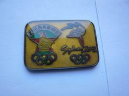Pin S JEUX OLYMPIQUES SYDNEY ZIMBABWE - Jeux Olympiques