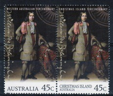 Australia 1996 Set Of Stamps To Celebrate Royal Visit This Is A Joint Issue. - Ungebraucht