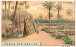 CHROMOS - CACAO VAN HOUTEN - OASIS DE GABES - Vieux Papiers