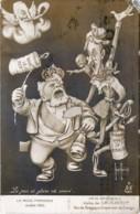 CARICATURE ILLUSTRATEUR HENRI AURRENS - LE MOIS PARISIEN - Juillet 1910 - Fête Nationale - Visite De S. M. ALBERT Ier - Satirical