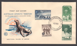 AUSTRALIE AAT 1959 FDC Exploration De L'Antarctique - FDC