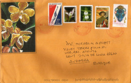 Belle Lettre USA, Nouveaux Timbres WW I, Lunar New Year, Flowers Forever Stamps 2020., Envoyé En Andorre - Vereinigte Staaten