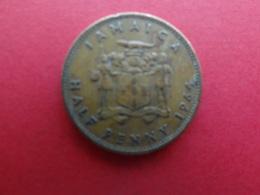 Jamaique  1/2  Penny  1964  Km 38 - Jamaica