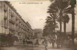 CPA -  NICE - AVENUE MASSENA - Niza