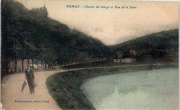 08 FUMAY - Chemin De Halage Et Rue De La Gare     * - Fumay