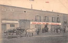 LUCY 1908 SPEZEREI GASTHOF Emile EVRARD RESTAURANT EPICERIE - Autres Communes