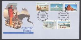 AUSTRALIE AAT 1984 FDC Vues Du Territoire Série I - FDC