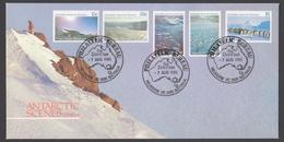 AUSTRALIE AAT 1985 FDC Vues Du Territoire Série II - FDC