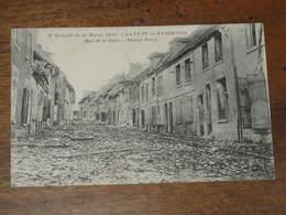 LA FERE En TARDENOIS - Rue De La Gare - 2eme Bataille De La Marne 1918 - Fere En Tardenois