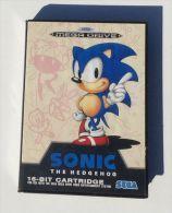 SONIC Jeu Pour Sega Megadrive - Sega