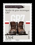 Andorra (FR) 2020 Mih. 863 GR7 Long-distance Footpath MNH ** - Unused Stamps