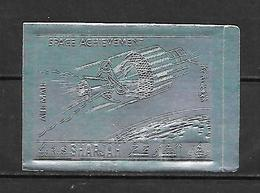 Sharjah 1972 Space Research - SILVER IMPERFORATE MNH - Asien