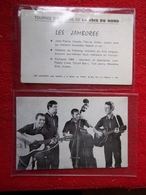 Les Jamboree Tournée D'été 1966 De La Voix Du Nord-lot De 2 Cartes ! - Singers & Musicians