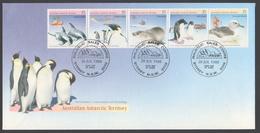 AUSTRALIE AAT 1988 FDC Préservation De L'environnement Faune - FDC