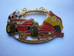 Big Pin S F 1 FERRARI 5 X 3 Cm 2 Attaches Tbq - Ferrari