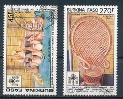 °°° BURKINA FASO - Y&T N°827/28 - 1990 °°° - Burkina Faso (1984-...)